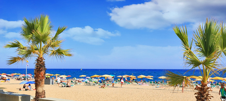 Meilleures plages de barcelone expo hotel barcelona for Beautiful beaches in la